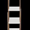 Inspired Environments White Ladder Shelf Side