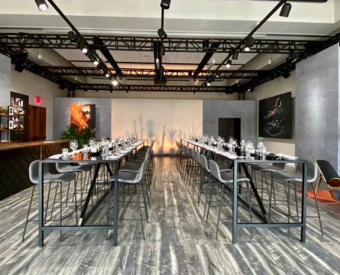 Inspired Environments Art Gallery Dinner