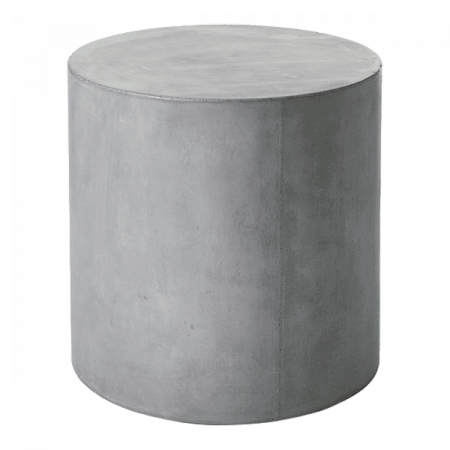 Inspired Environments Cement Round Side Table