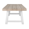 Inspired Environments Driftwood Gray Dining Table
