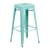 Inspired Environments Mint Tolix Metal Barstool