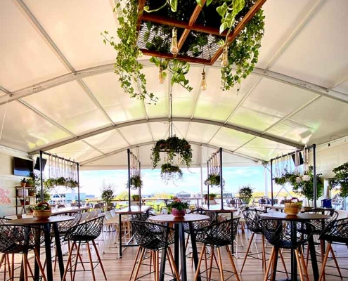 Inspired Environments Pavilion Gathering Corporate Event