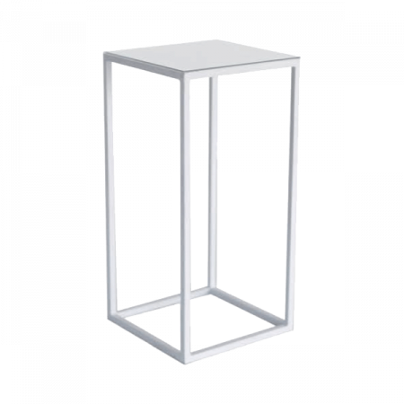 Inspired Environments White HIghboy Table