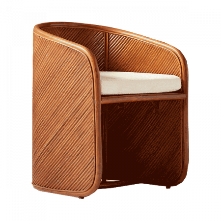 Inspired Environments Russet Rattan Chair